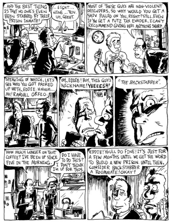 Eddie's Week by Patrick Dean interior page 1