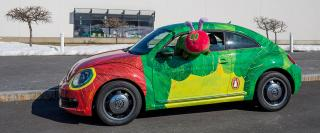 Very Hungry Caterpillar car