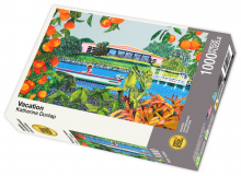 Vacation by Katherine Dunlap - 1000 piece jigsaw puzzle front of box