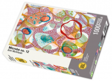 Microbe no. 12 by Erin McIntosh - 1000 piece jigsaw puzzle front of box