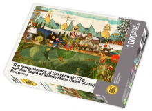 The remembrance of Gukkenwald (The peculiar death of Valerie Marie Osten Chafer) by Nina Barnes - 1000 piece jigsaw puzzle front of box