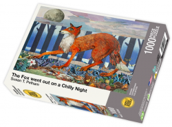 The Fox Went Out on a Chilly Night by Susan T. Pelham - 1000 piece jigsaw puzzle front of box